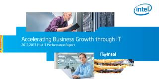 Intel IT Performance Report