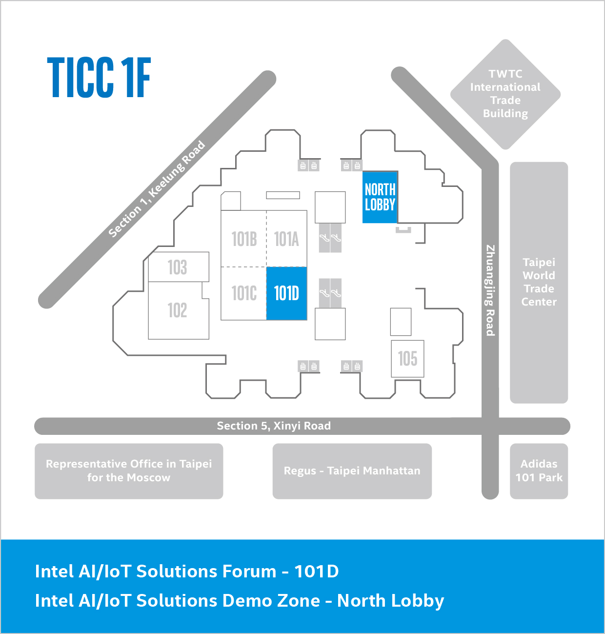 COMPUTEX 2019 Taipei International Convention Center Map