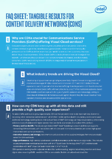 Content Delivery Networks for CoSPs
