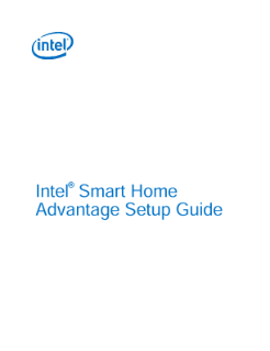 Intel® Smart Home Advantage Installation Guide
