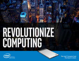 Intel® Compute Card—Enrich Daily Life in Unexpected Places