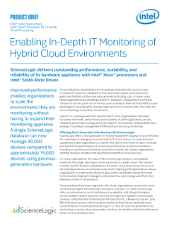 Monitoring Hybrid Cloud Environments with ScienceLogic Appliances