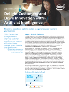Delight Customers and Drive Innovation with Artificial Intelligence