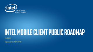 Intel® Mobile Roadmap