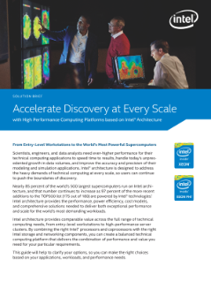 Accelerate Discovery at Every Scale with Intel® Architecture