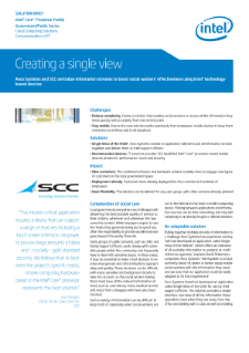 Avco Systems and SCC Create a Centralized Information View