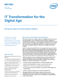 Driving Value with IT Transformation