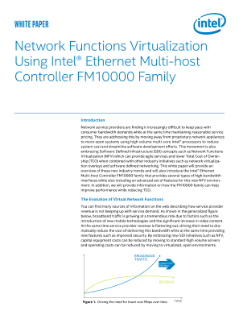 Network Function Virtualization using Intel® Ethernet Multi-host Controller FM10000 Family