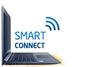 Intel® Smart Connect Technology keeps you connected to your social networks.
