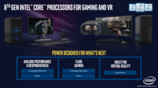 8th Gen Intel® Core™ Processors for Gaming and VR – Sales Brief